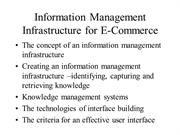 Framework information management infrastructure