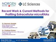Recent Work & Current Methods for Profiling Extracellular microRNAs