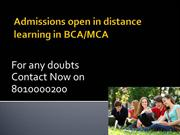 distance learning mca 801000200