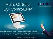 Points-Of-Sale System By- Control ERP
