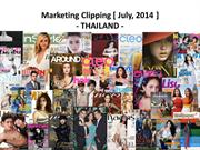 Thailand Clipping July, 2014