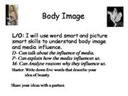 Power point 3-4 Body Image