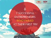 7 Successful Entrepreneurs Who Failed at Their First Try