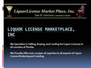 Florida Liquor License