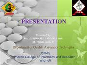 presentation on presentation by Vishwajeet