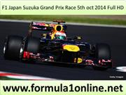 F1 Japan Suzuka Grand Prix 5th oct 2014 Live Telecast