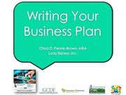 BRC-Writing Your Business Plan