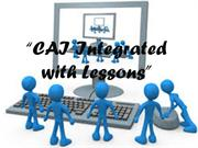 CAI INTEGRATED LESSONS