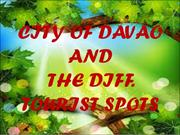 City of Davao and The Different Tourist Spots
