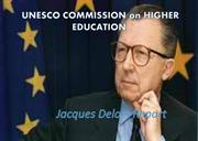 UNESCO COMMISSION on HIGHER EDUCATION PPT