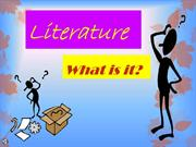 literature what is it