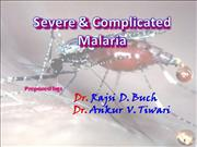 Severe & Complicated Malaria