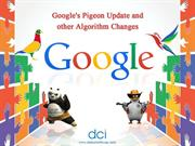 Google's Pigeon Update and other Algorithm Changes