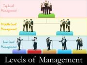 Levels-of-Management-Demo