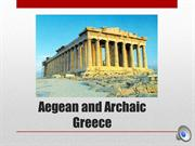Greek Lecture Part 1