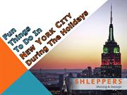 Fun Things to do in New York City During the Holidays