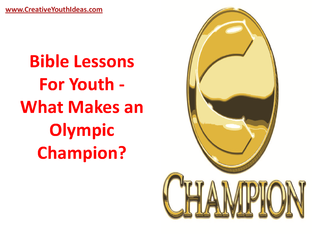 The CHOICE of Champions: Jesus Christ Lesson #1