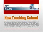 New Trucking School
