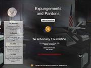 Expungements and Pardons
