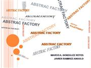 ABSTRAC FACTORY patron de creacion