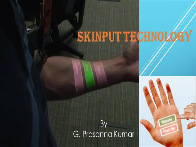 research paper on skinput technology