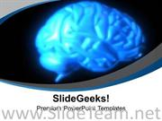 HUMAN BRAIN MEDICAL THEME POWERPOINT TEMPLATE