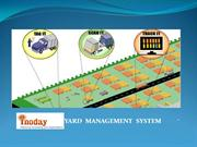 Yard Managmement System and Logistic Management
