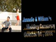 jannelle & william ok