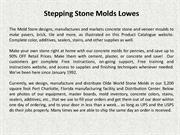 Stepping Stone Molds Lowes