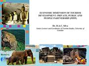 ECONOMIC DIMENSION OF TOURISM DEVELOPMENT: