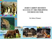 ZERO CARBON RESORTS SUCCESS IN THE PHILIPPINE TOURISM SECTOR