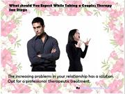 What should You Expect While Taking a Couples Therapy San Diego