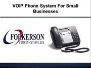VoIP Phone System For Small Businesses