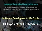 Software Development Lifecycle - SDLC