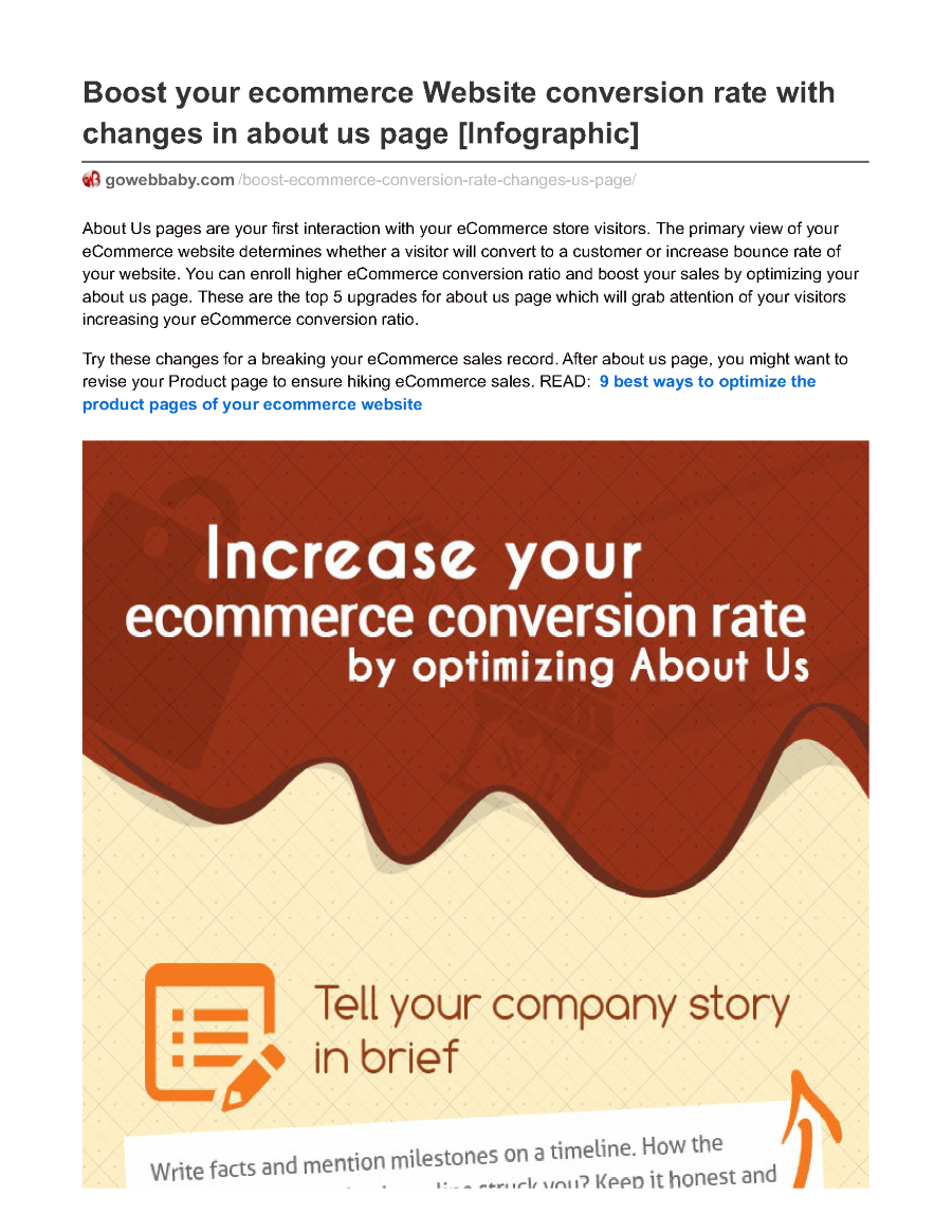 Boost Your Ecommerce Website Conversion Rate With about Us ... - photo#10
