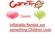 Inflatable Rentals are something Children Love
