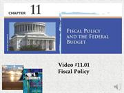 #11.01 -- Fiscal Policy (5.05)