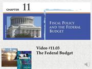 #11.03 -- The Federal Budget (5.56)