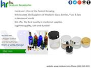 Find Top Quality Glass Vials in Surrey