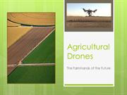 Agriculture Drones Presentation