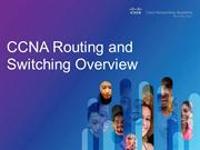 CCNA Routing and Switching IT Certifications