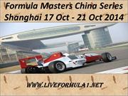 Live Formula Masters China Series Shanghai 17 Oct - 21 Oct