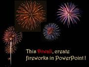 Creating Fireworks in PowerPoint !