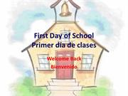 First Day of School2