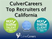 CulverCareers – Top Recruiting Firm of California