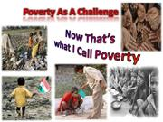 Poverty As A Challenge.ppt