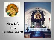 New Life in Jubilee Year - save