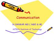 Intro Communication ns