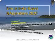 Ems in India Hopes &Aspirations 2020 -Angels Version
