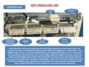 NEC IPASOLINK 100 COMMISIONING PROCESS